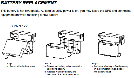 How do I replace the UPS battery myself? - OTELCO